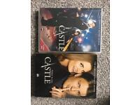 ABC's Castle Series 2 and 4 DVDs (brand new)