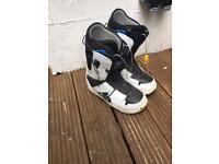 Snow board boots - burton Moto (size 10)