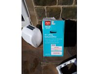 Like new dehumidifier used once. Sell for £50 great value.