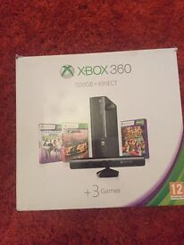 Xbox 360 500GB Black Console with Kinect and 19 Games