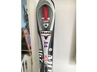 K2 moto skis 167 cm with marker bindings