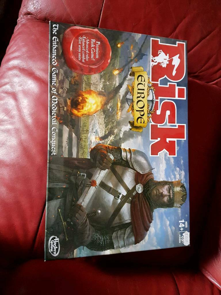 RISK Board Game EUROPE
