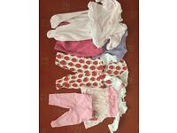 Baby girl 0-6 months clothes