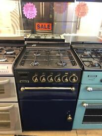 LEISURE 55CM ALL GAS COOKER IN BLUE