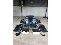 E46 m3 full black leather interior