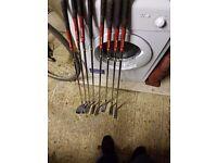 Taylor made rac golf clubs