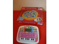 Vtech toy tablet leaning game and fishing game