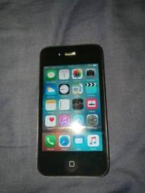 Apple iPhone 4S 16GB black on Vodafone