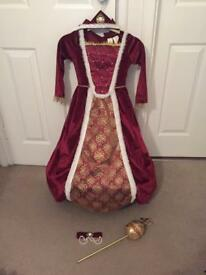 Regal Queen Children's Costume 3-4yrs