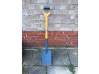 Neverbend shovel/spade