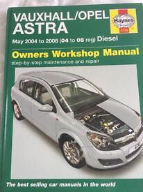 Haynes Astra 2004/2008 diesel