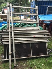 Aluminium tower scaffold