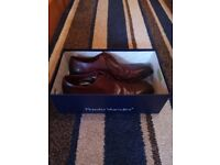 Paolo Vandini leather shoes for sale. Barely used, 2 times just!