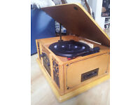 prolectrix CD tape and record player plus vinyls