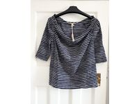BNWT Joules striped top