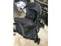 Silver cross 3D pram with car seat!
