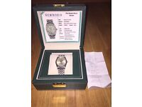 Rolex Gents Oyster Perpetual DateJust White Gold Bezel 16220 Limited Addition