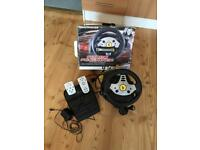 BOXED PC THRUSTMASTER FORCE FEEDBACK RACING WHEEL