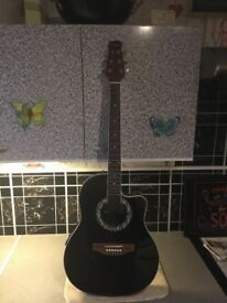 Electro acoustic guitar £65 cash