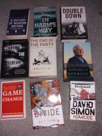 2nd hand books for sale. Sold as a bundle or seperately