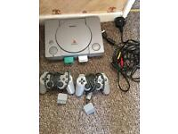 PlayStation One + Several games