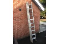 3 Section extension ladder