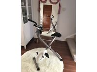 Folding pro fitness exercise bike in good condition