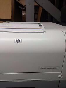HP LaserJet CP1215 Workgroup Laser Printer color 22k page count