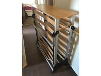 FREE. 3ft fold away guest bed base. On castors. High quality heavy duty. Base only. On castors