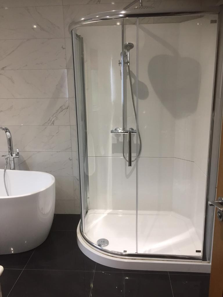 Neptune leak free shower pod for bathroom shower tray | in Armagh ...