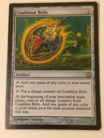 MTG Coalition Relic - NM/LP - Phyrexia Vs The Coalition Magic The Gathering