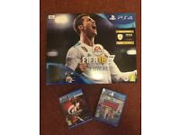 PS4 Console (FIFA 18) , 500GB, slim, brand new, unopened and sealed. £200 - Bargain..!!