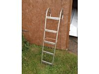 Boat ladder 5 rung ,stainless steel
