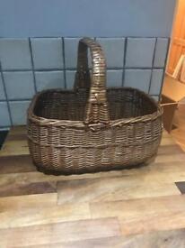 Lovely Wicker Shopper Style Basket