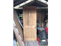 Reclaimed internal timber door (Victorian)
