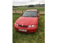 Red MG ZS, 2.0 2003