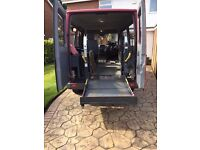 WHEELCHAIR FOLDING ELECTRIC RAMP COMPLETE