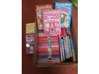 Box of Jacqueline Wilson books - over 40 books plus others