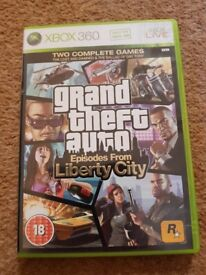 Grand Theft Auto - Episodes from Liberty City - XBOX 360