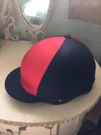 New riding hat and silk