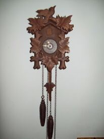 Medium Cuckoo Clock- Genuine German Antique