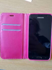 Samsung J3 - used once comes with case