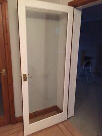 """2 X 78x33"""" Glazed Doors"""
