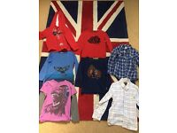 Joules/crew/fat face boys tops