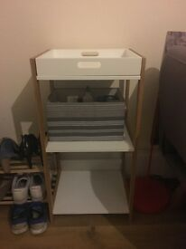 Small storage/shelving unit
