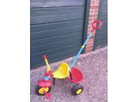 three wheeled trike