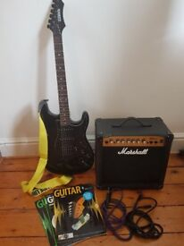 Guitar and Marshall Amp pack.