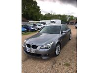 Bmw 520d m sport-2008-1 owner-4dr saloon-grey-Hpi clear-low miles-part exchange welcome