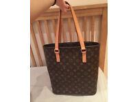 Authentic 100& Real New Louis Vuitton MM Monogram handbag shoulder bag tote shopper