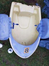 Kids hand paddle boats